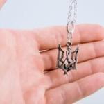 Купить кулон герб трезуб в Киеве