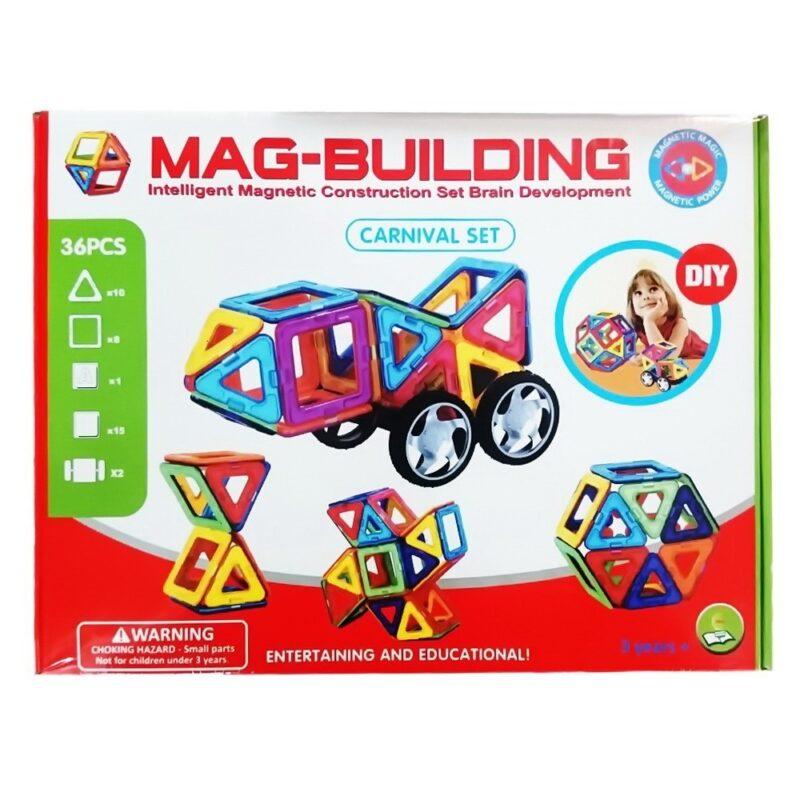 магнитный конструктор mag-cube 36 элементов, арт..