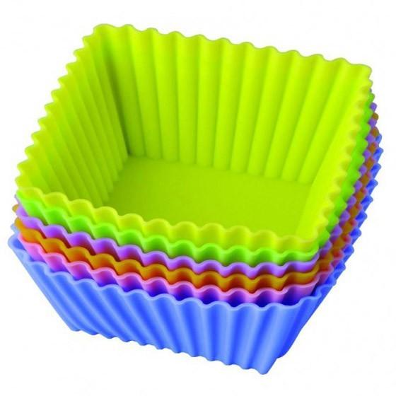 набор силиконовых форм «тарталетки квадратные».