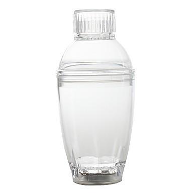 набор из двух led-стаканов для коктейлей и шейкера.
