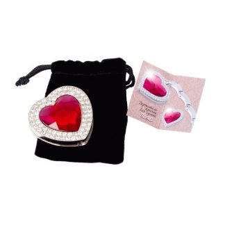 держатель крючок для сумки heart сердце купить.