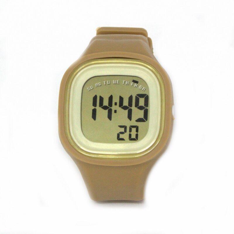силиконовые led часы shors sh 689 синии