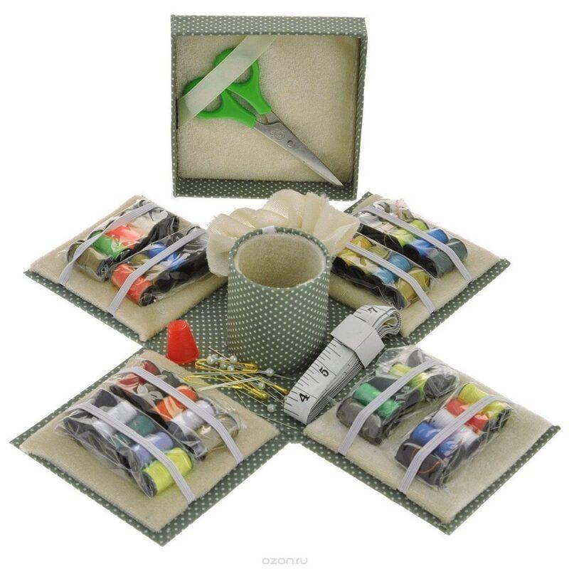 набор для шитья из 70 предметов «швея» bradex.