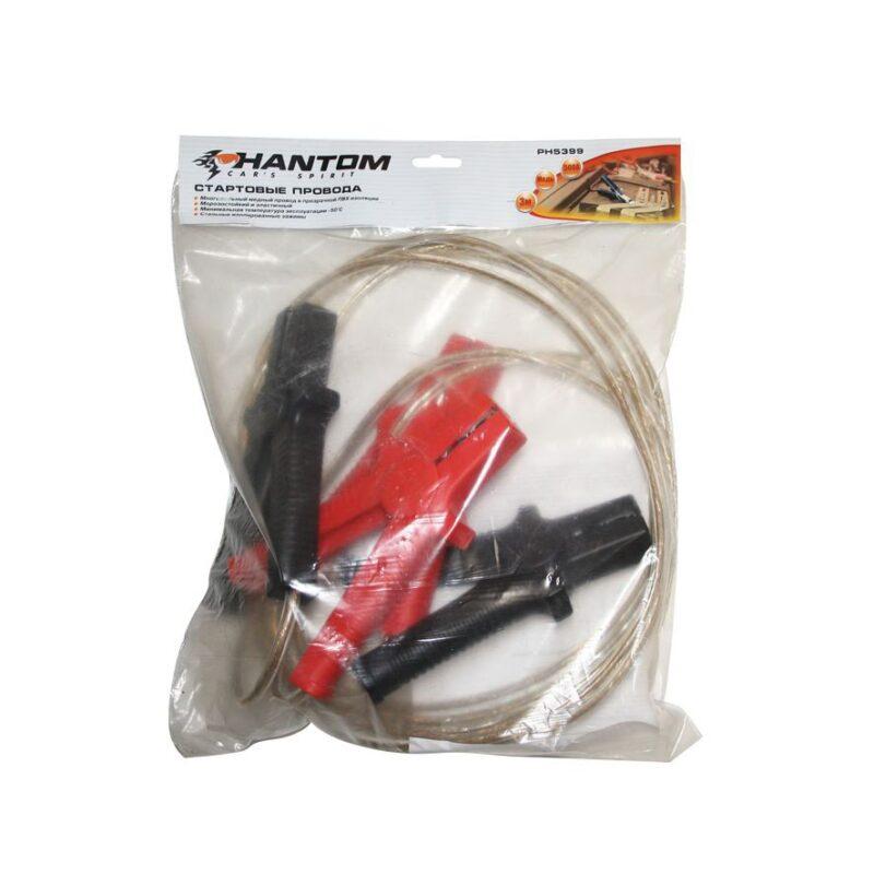 пусковые провода 30м-500а-phantom ph5399 | лучшее.