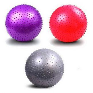 мяч гимнастический массажный d-65см (с насосом).