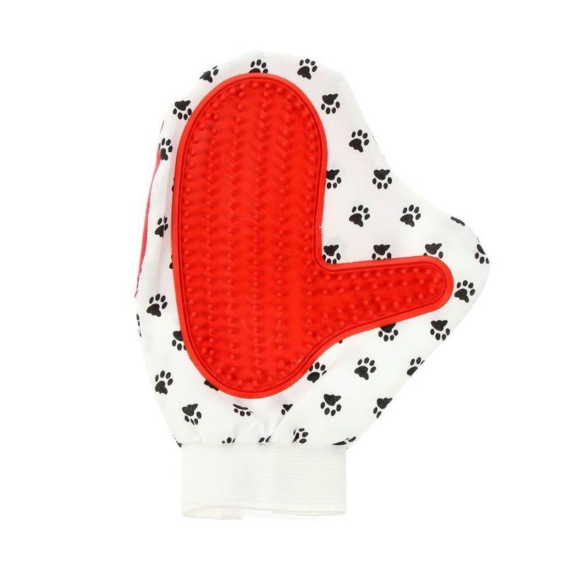 перчатка для шерсти животных pet brush glove отзывы