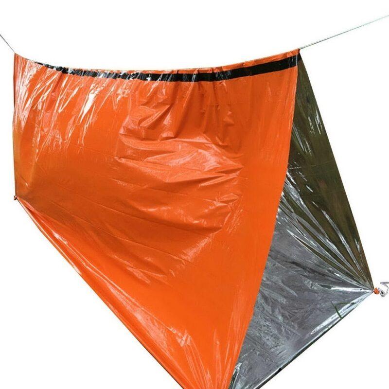 аварийный спальный мешок-палатка из полиэтилена.
