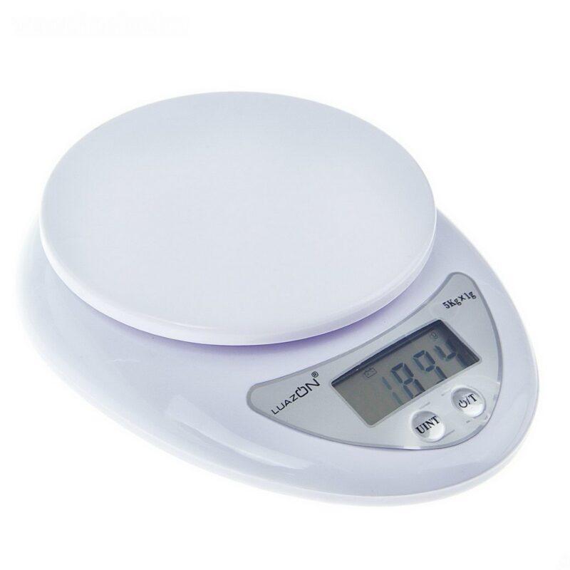 весы luazon lvk-501, электронные, кухонные, до 5 кг.