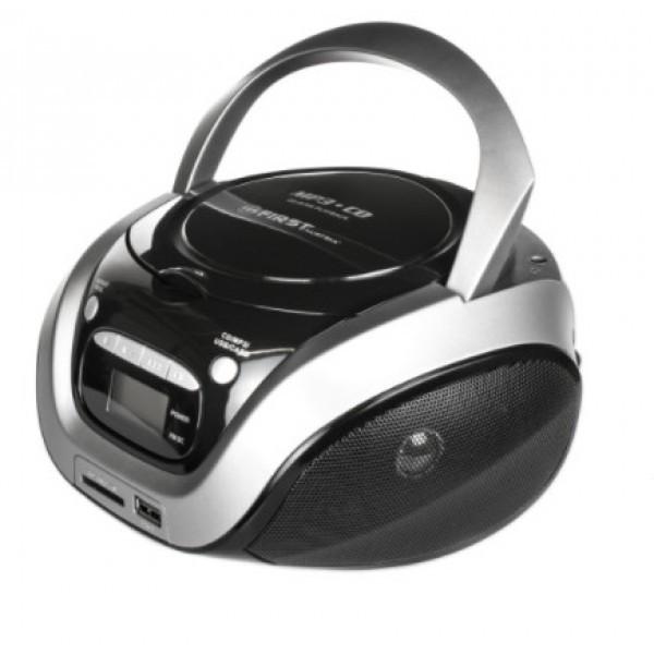 1154-3-gr магнитолы cd/usb first мощность 2х1.2 вт.