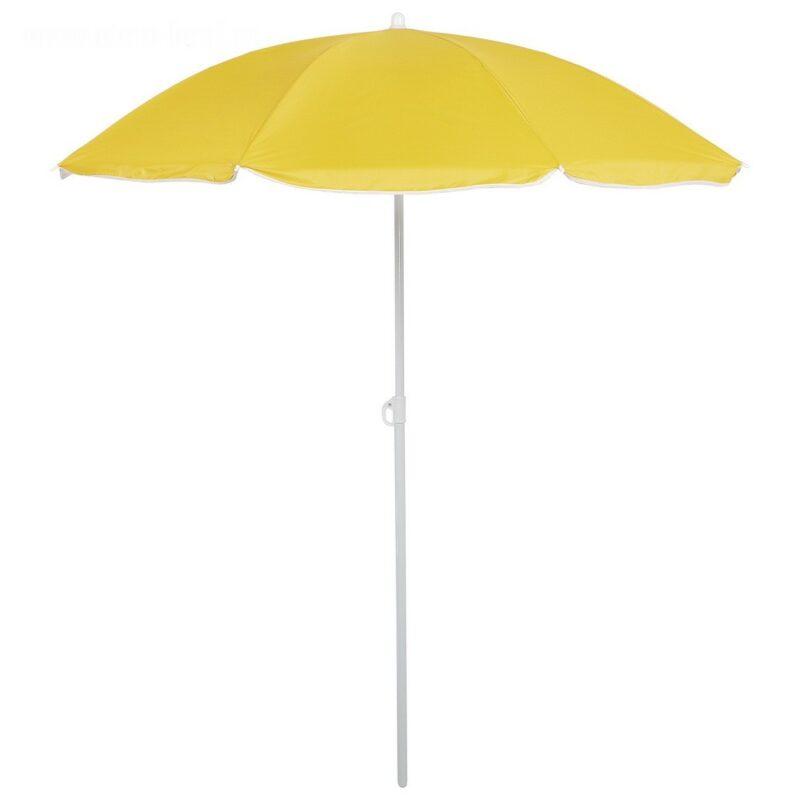 зонт пляжный классика d150cм, h170 см, цвет микс