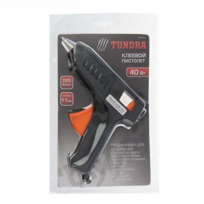"""клеевой пистолет """"tundra basic"""" 40 вт, 220 в , 11 мм."""