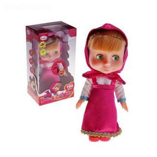 """кукла """"маша"""" говорит 100 фраз, поет 4 песни"""