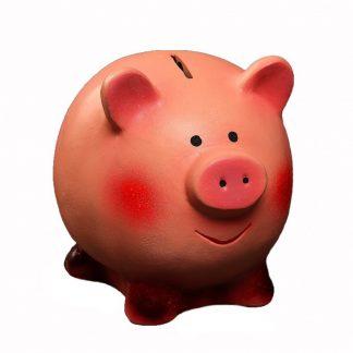 копилка - свинка улыбака, 16х13х14 см, цена 479 руб..