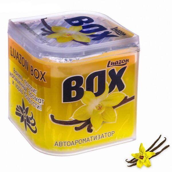 ароматизатор в банке luazon box, ваниль (1664852).
