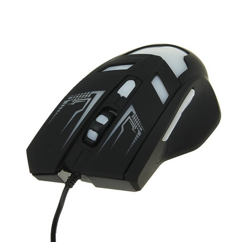 мышка игровая luazon l-062, оптическая, подсветка.