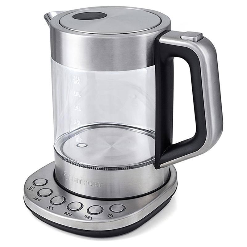 чайник kitfort кт-616 — купить без предоплаты.