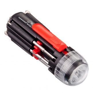 фонарь - чингисхан с инструментами 6-в-1, 9,5x3,5 см.