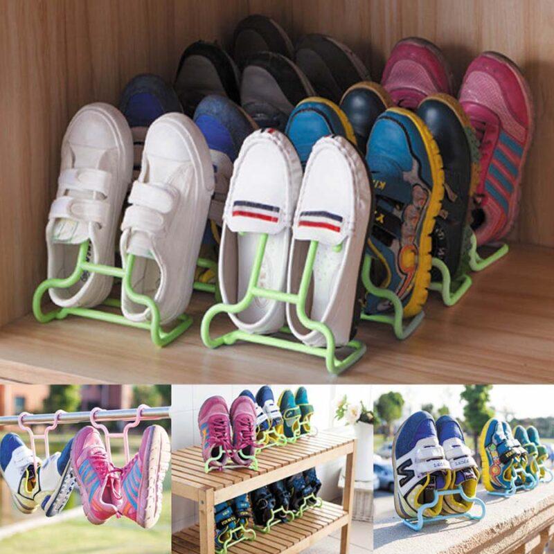 подставка-сушилка для обуви 2 шт, цвет микс, арт..