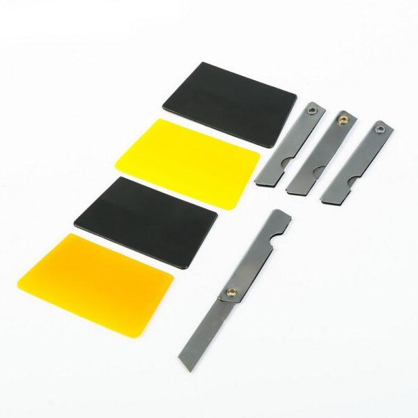 материалы и инструмент для тонировки и оклейки стекол.