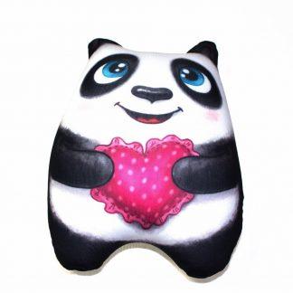 "мягкая игрушка-антистресс ""панда с сердечком"""