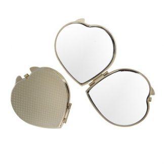 зеркало «сердце» - под золото