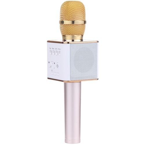 беспроводной караоке микрофон tuxun q9 - gold.