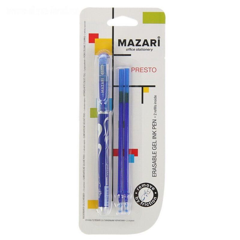 купить ручка гелевая tc-grip, синяя, 0,5 мм, грип от 18.