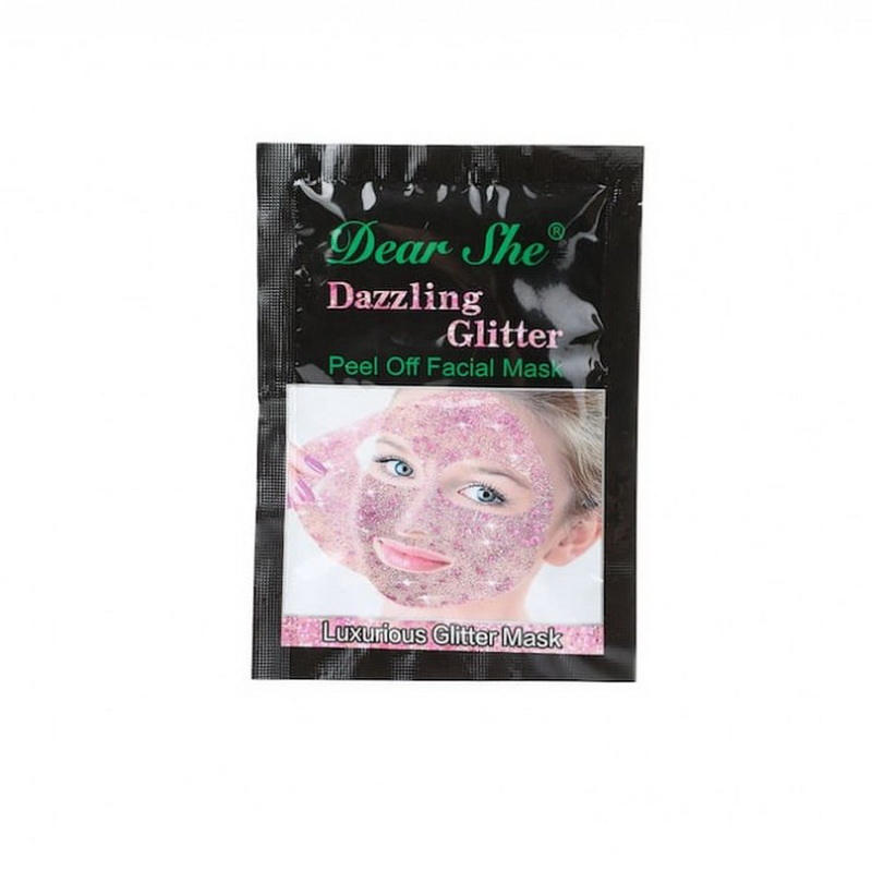 маска star mask luxurious glitter mask розовая оптом