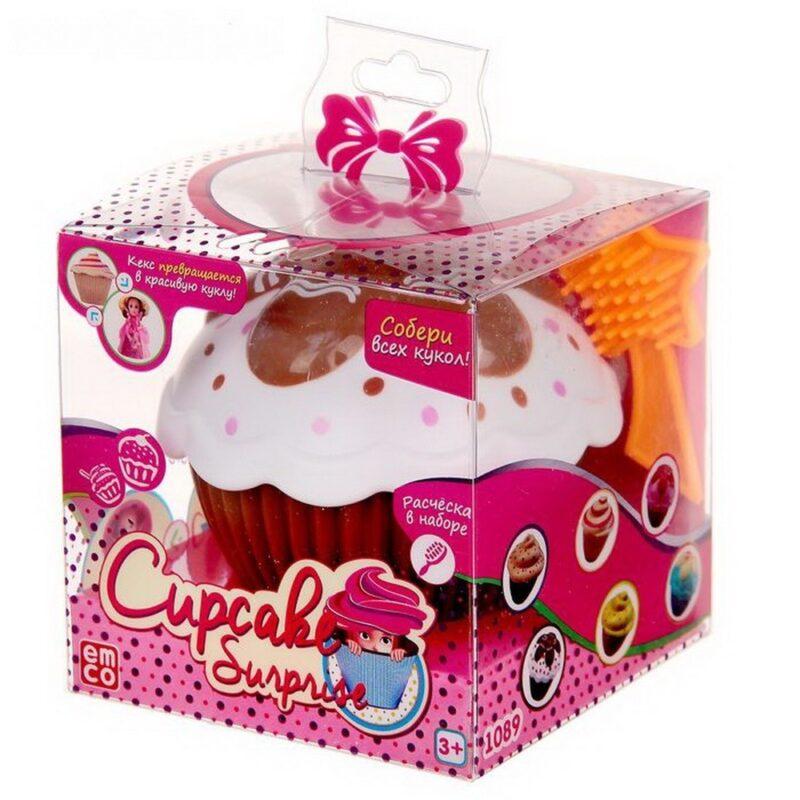 emco кукла-кекс cupcake surprise ava купить куклы.