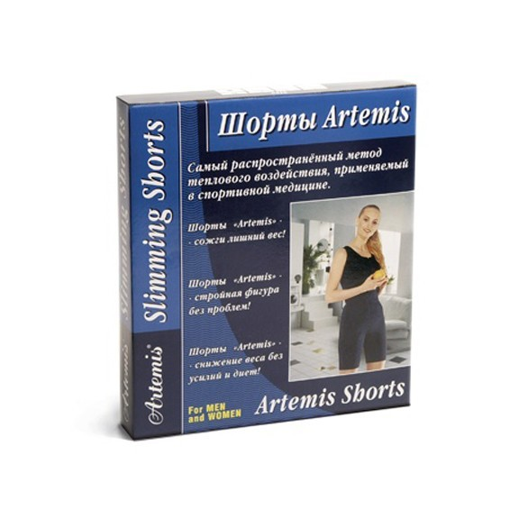 шорты artemis deluxe для похудения xl (76-86 см)