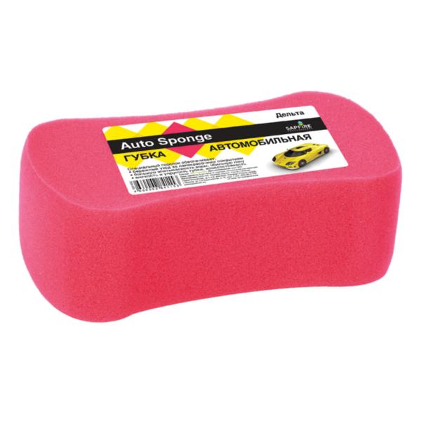 губка для мытья автомобиля sapfire дельта цвет купить.