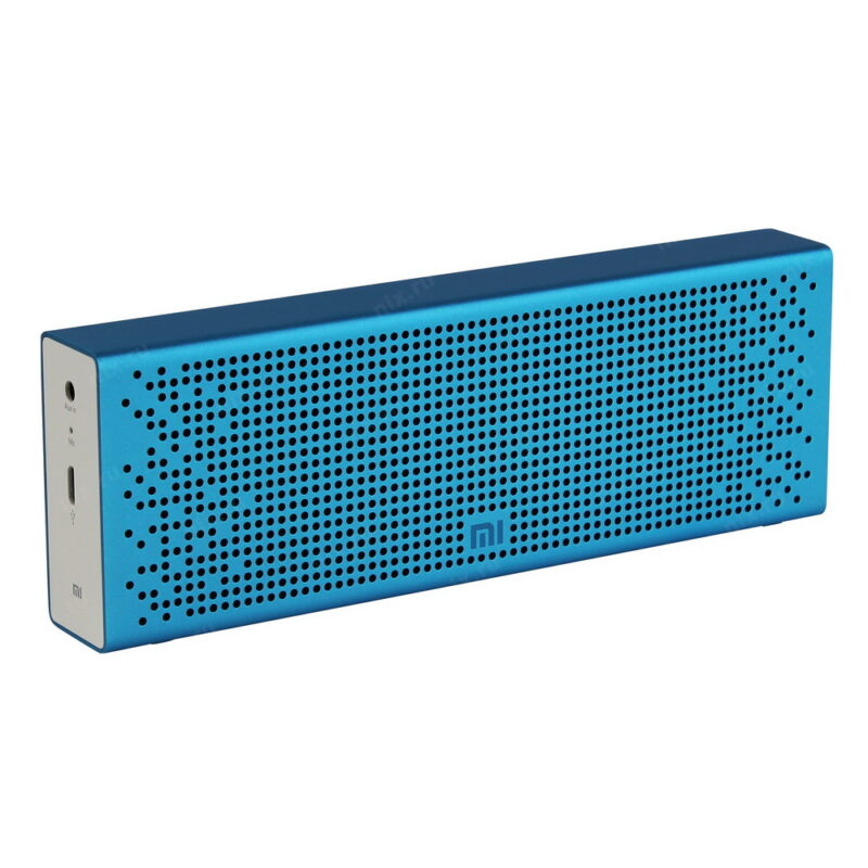 xiaomi mi bluetooth speaker blue — купить колонку.