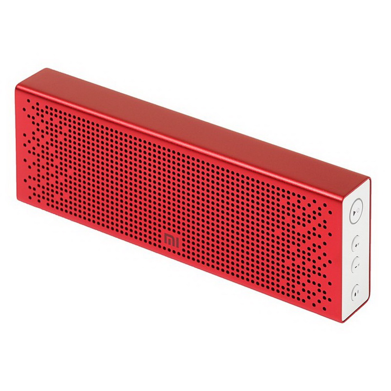 портативная колонка xiaomi mi bluetooth speaker red.