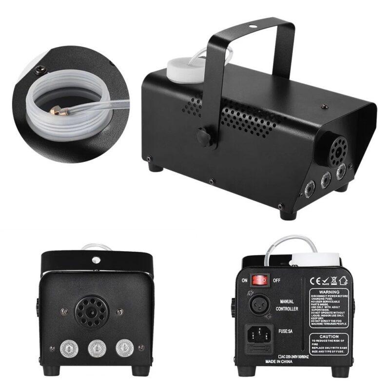 дым-машина luazon lighting, 400 вт, 3 led, rgb, 220.
