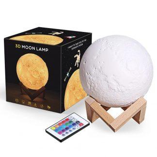 купить 3d лампа moon в интернет-магазине алиэкспресс