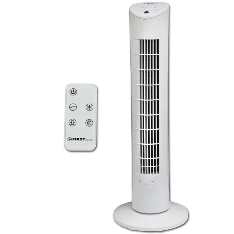 вентилятор напольный first fa-5560-1 60 вт белый.