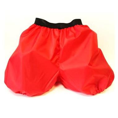 санки-шорты 2 в 1 красные - быстрик, размер 6-10 лет.