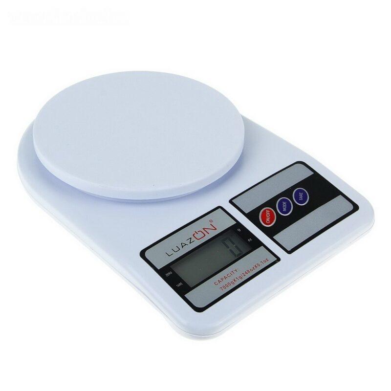 весы luazon lvk-704, электронные, кухонные, до 7 кг.