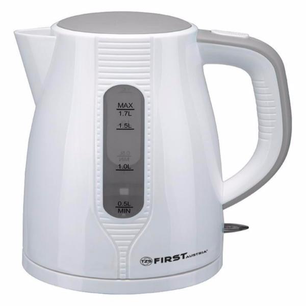 купить чайник first fa-5426-5 white/grey в г. москва.