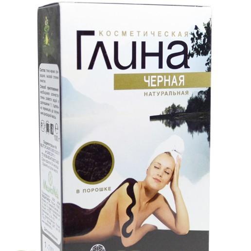 купить глина черная косметическая 100 г – цена 32 руб..