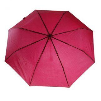 """зонт складной """"oliviero"""", механический 21,5"""", бордовый"""
