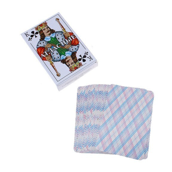 карты игральные атласные 54 шт. за 13.40 руб..