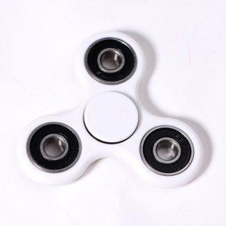 игрушка антистресс спиннер fidget hand spinner белый