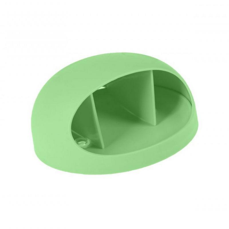 держатель настенный универсальный, цвет: зеленый.