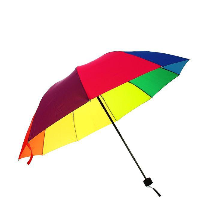 зонт механический радуга, ветроустойчивый купить по.