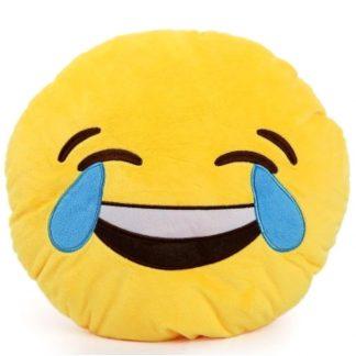 подушка emoji (эмоджи) - смех до слез китай. - blizko