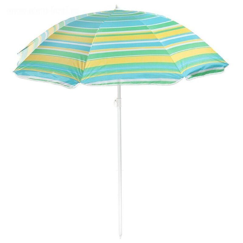 зонт пляжный модерн с серебряным покрытием.