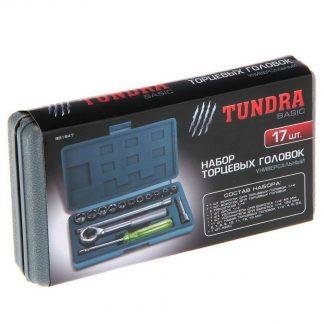 набор торцевых головок tundra basic 881848.