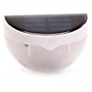 светильник на солнечной батарее с датчиком света.