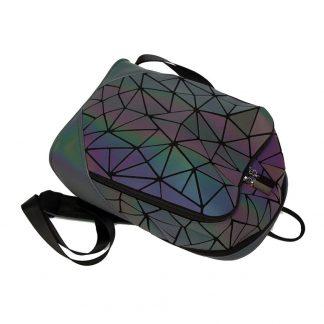 голографический рюкзак-хамелеон bao – купить за 2390.